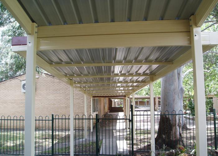 School Walkway Cover 05