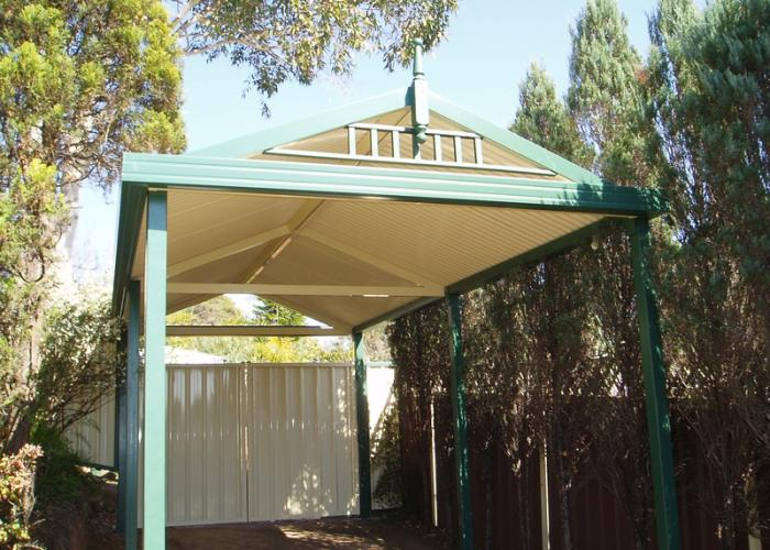 Gable Free Standing 03