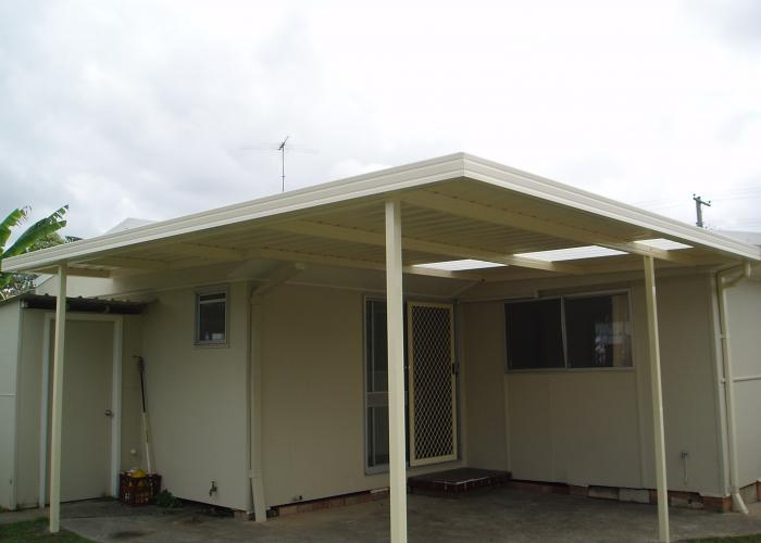 Flat Roof Awning 14