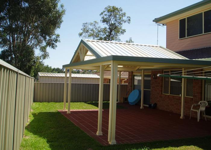 Gable Patio Awnings 10