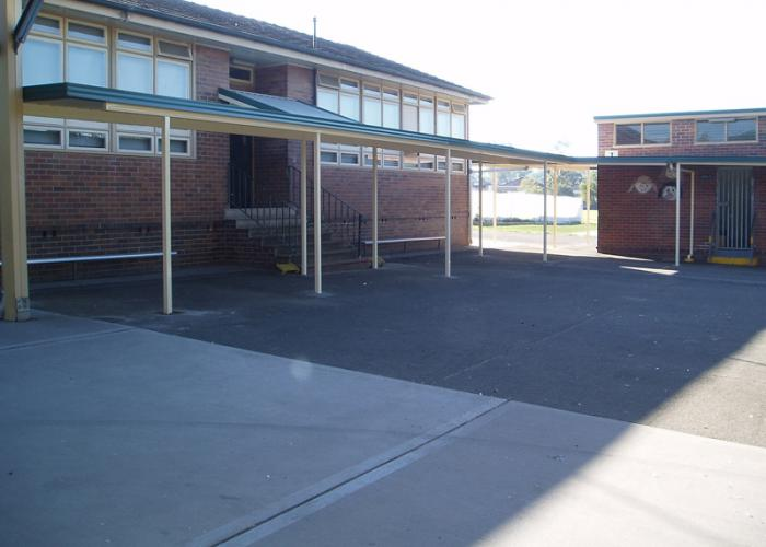 School Walkway Cover 03