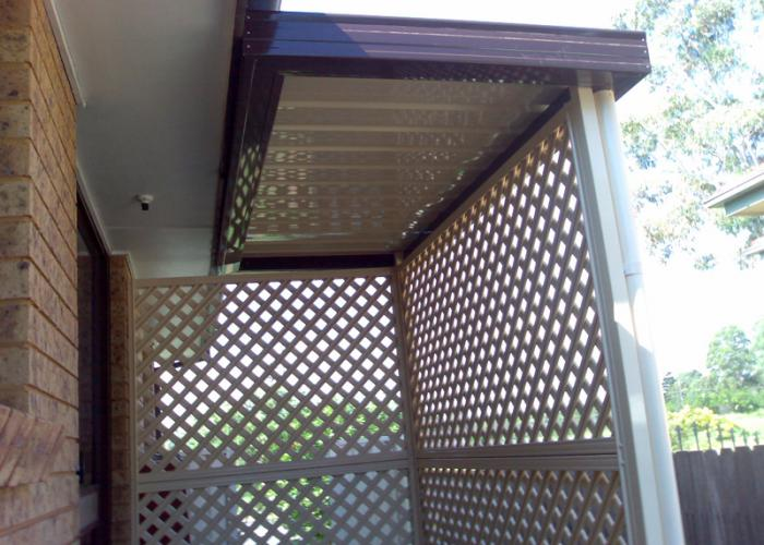 Flat Roof Awning 03
