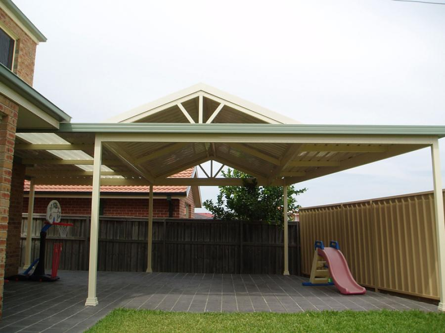 Gable Patio Awnings 08