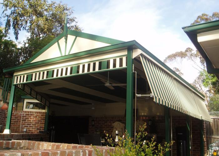 Gable Patio Awnings 16