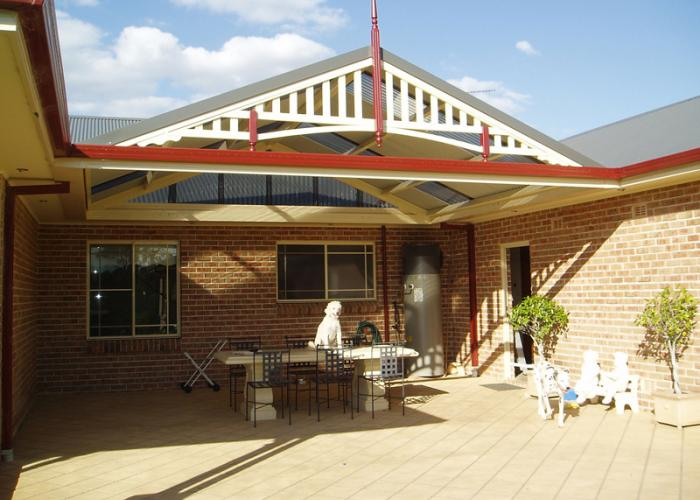 Gable Patio Awnings 24