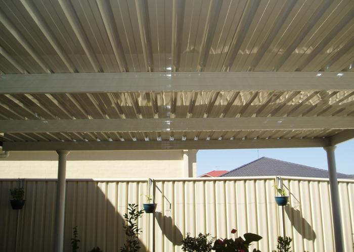 Flat Roof Awning 08