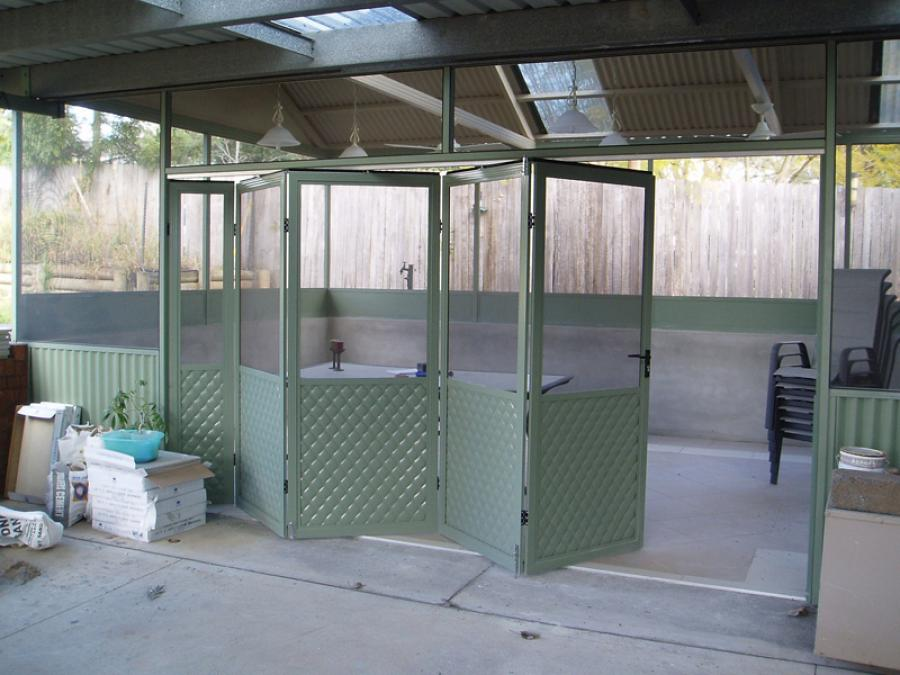 Flat Roof Awning 07