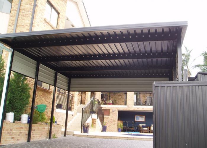 Flat Roof Carport 5